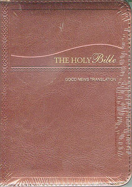 THE HOLY BIBLE-BURGUNDY